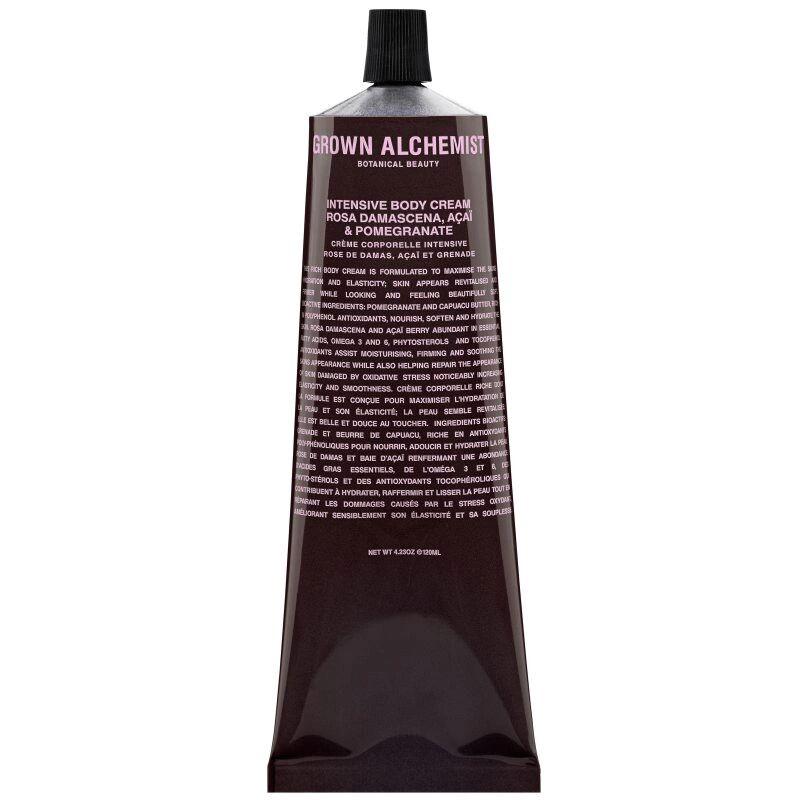 Grown Alchemist Intensive Body Cream Rosa Damascena. Acai & Pomegrante (120ml)