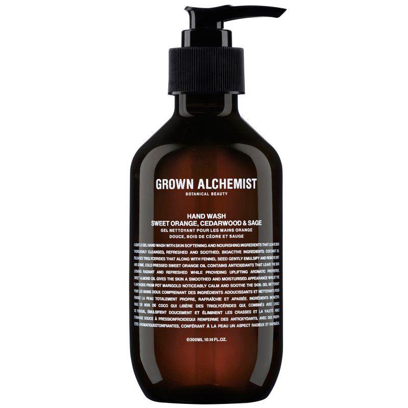 Grown Alchemist Hand Wash Sweet Orange. Cedarwood & Sage (300ml)