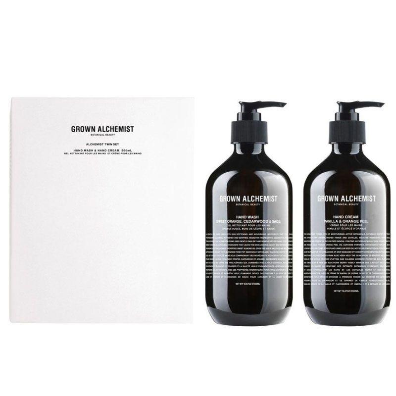 Grown Alchemist Twin Set Hand Wash & Hand Cream (600ml)