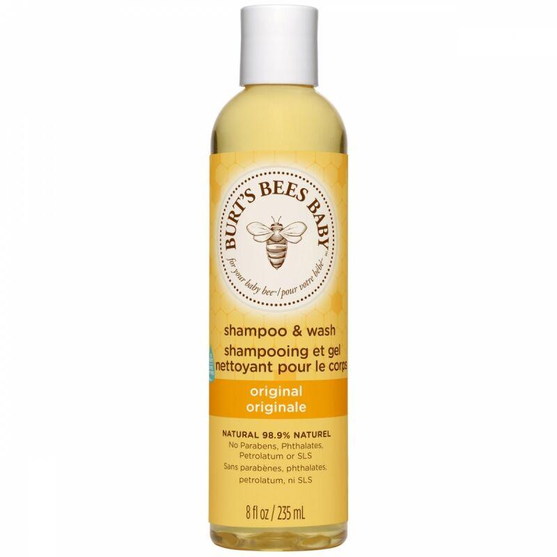 Burts Bees Baby Bee Shampoo & Body Wash (235ml)