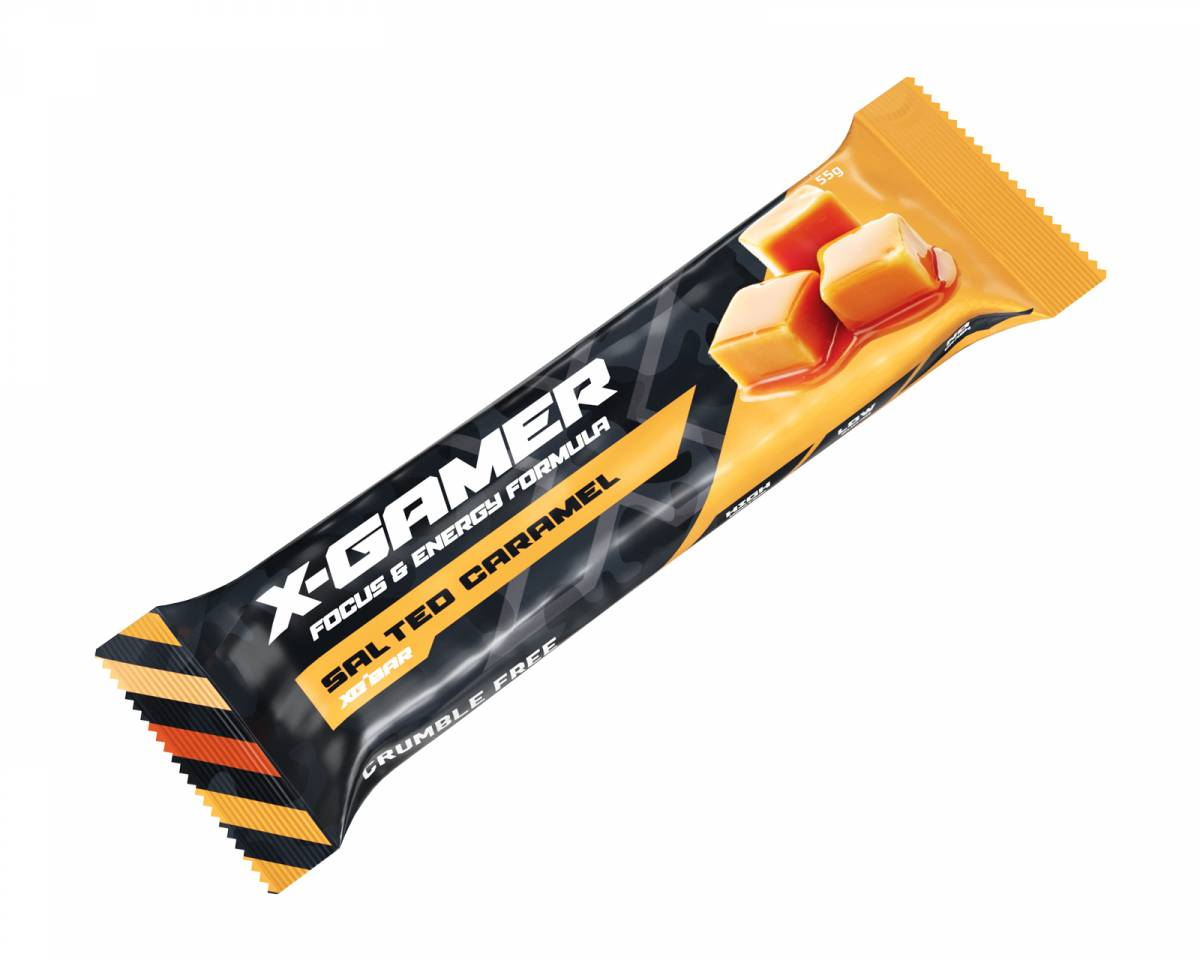 X-Gamer 55g X-Bar Salted Caramel