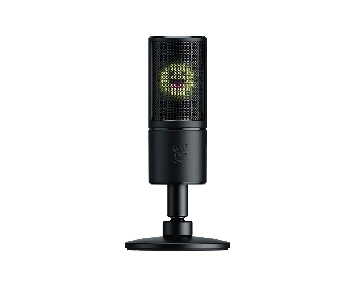 Razer Seiren Emote -mikrofoni USB-väylään