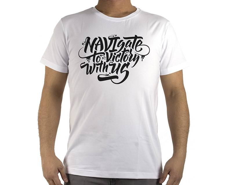 Natus Vincere T-shirt NAVIgate 2017 - Valkoinen