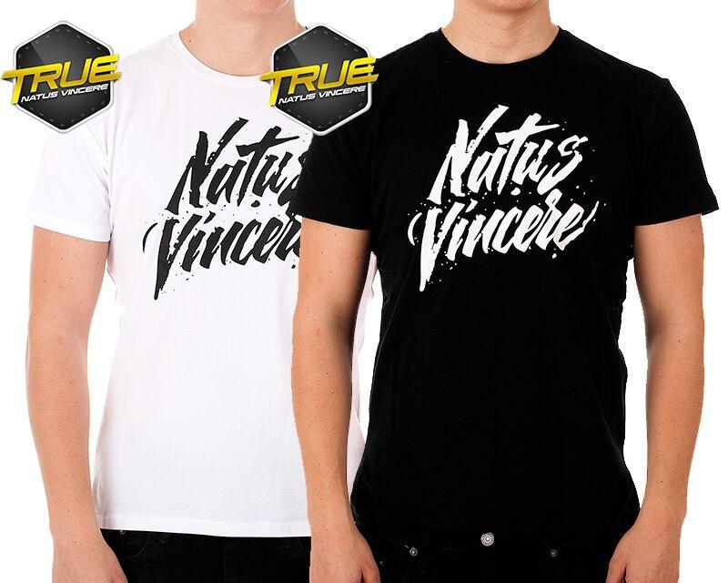 Natus Vincere T-Shirt - Musta and Valkoinen bundle
