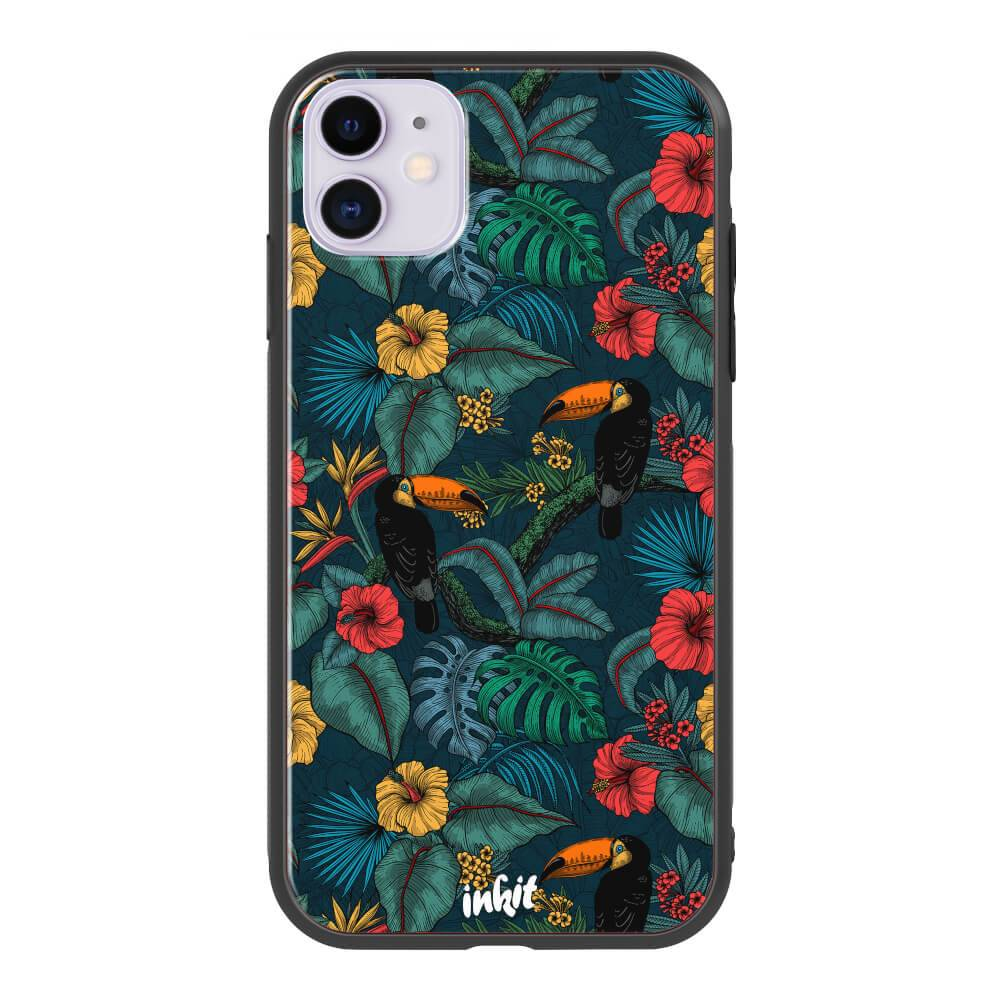 Apple iPhone 11 Inkit Suojakuori, Birds In Paradise
