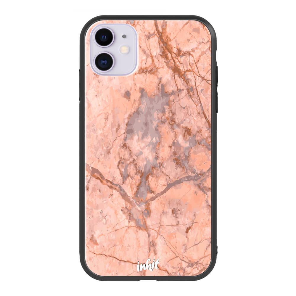 Apple iPhone 11 Inkit Suojakuori, Rose Marble