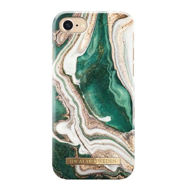Apple iPhone 6 / 6s / 7 / 8 iDeal of Sweden suojakuori Golden Jade Marble