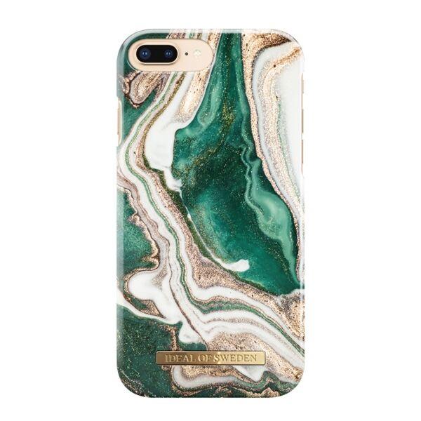 Apple iPhone 6 Plus / 6S Plus / 7 Plus / 8 Plus iDeal of Sweden suojakuori Golden Jade Marble