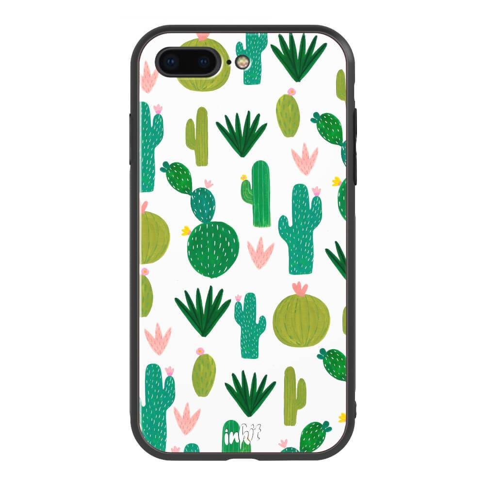 Apple iPhone 7 Plus / 8 Plus Inkit x Artiisan Suojakuori, Desert Rose