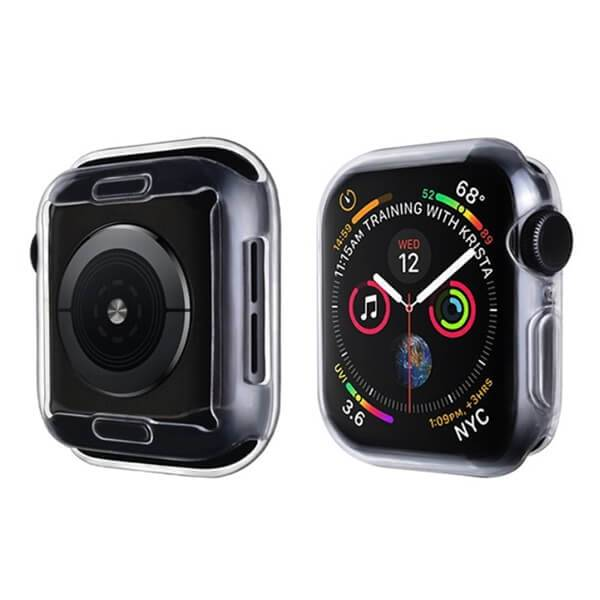Apple Watch Series 1-3, 38mm, TPU Suojakuori, Kirkas