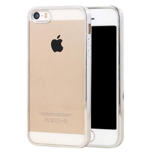 Apple iPhone 5 / 5s / SE Lux Suojakuori, Hopea