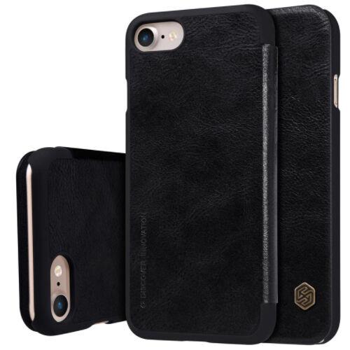 Apple iPhone 7 / 8 Nillkin Lompakko Suojakotelo, Musta
