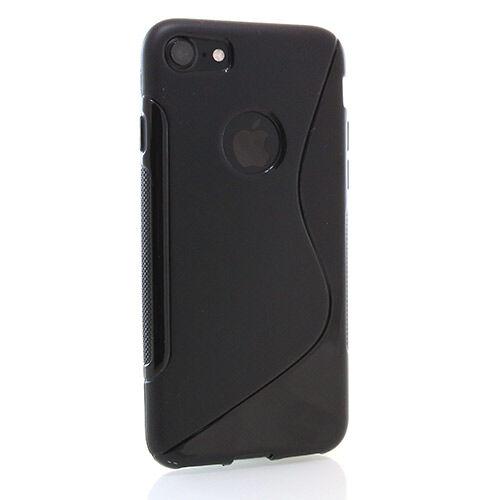Apple iPhone 7 Plus / 8 Plus S-Line Suojakuori, Musta