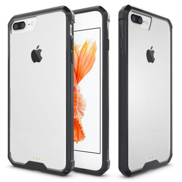 Apple iPhone 7 Plus / 8 Plus Shockproof Suojakuori, Musta