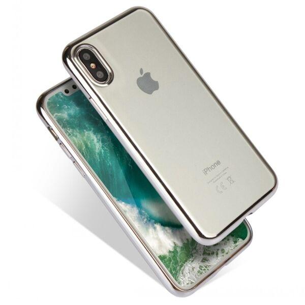 Apple iPhone XS Max Lux Suojakuori, Hopea