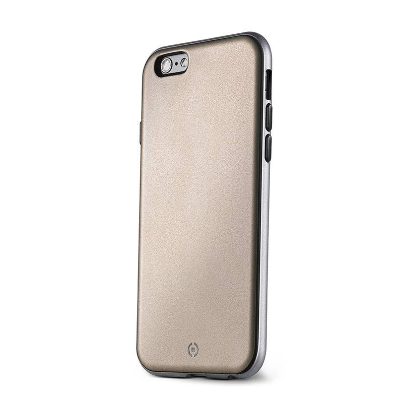 Apple Celly Apple iPhone 6 / 6s Bumber Cover Suojakuori, Kulta