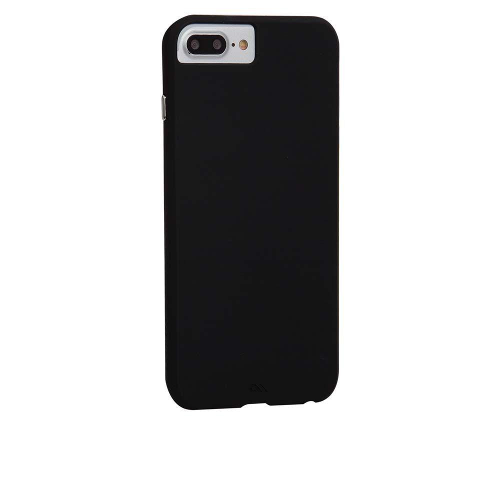 Apple Case Mate Barely There, Apple iPhone 7 Plus / 8 Plus Suojakuori, Musta