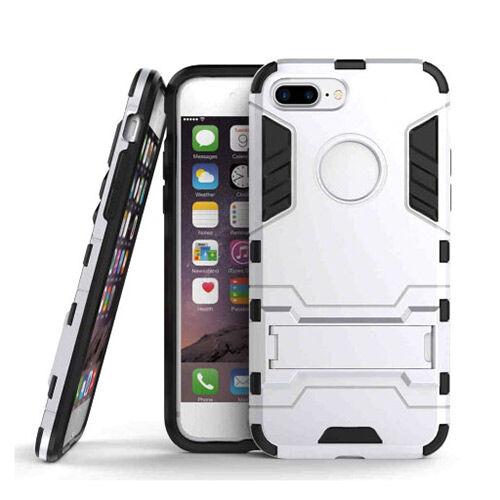Apple iPhone 7 Plus / 8 Plus Armor Suojakuori, Hopea