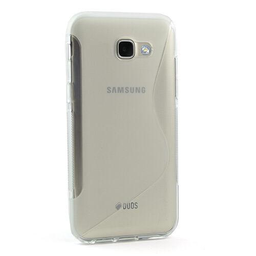 Samsung Galaxy A3 (2017) Suojakuori S-line, Kirkas