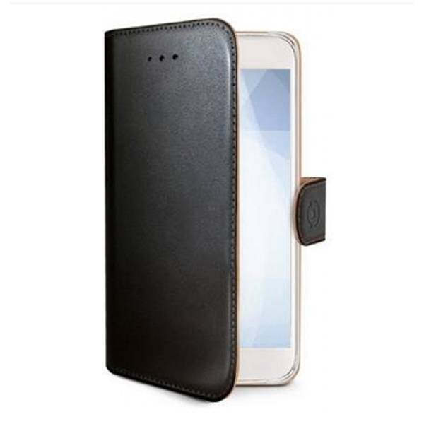Samsung Galaxy J6 Celly Wally Suojakotelo, Musta
