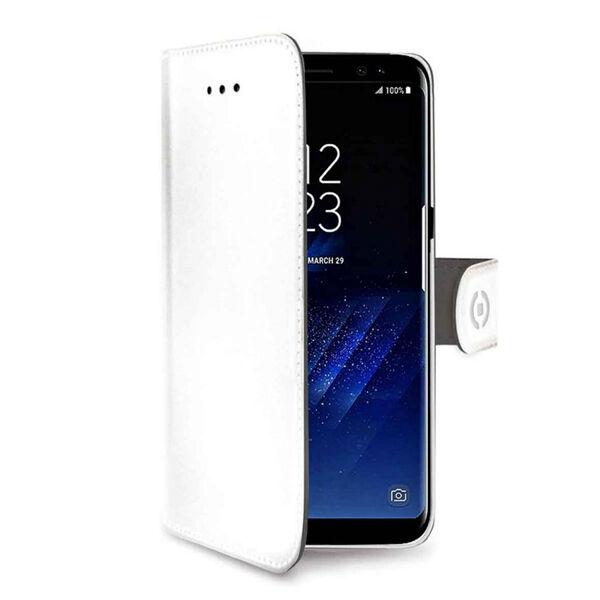 Celly Samsung Galaxy S9+ Celly Wally Suojakotelo, Valkoinen