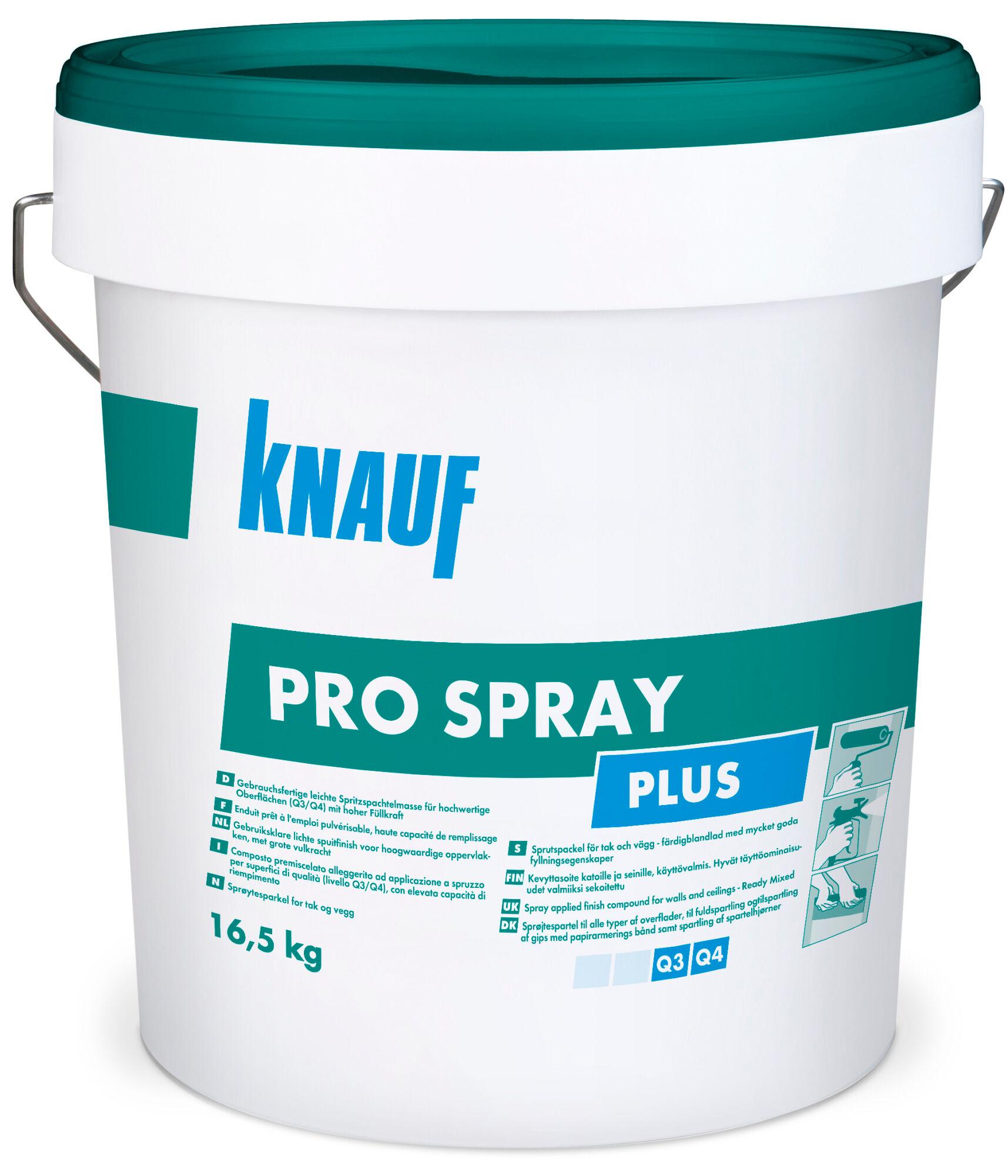 Knauf ProSpray Plus 16,5 kg tasoite