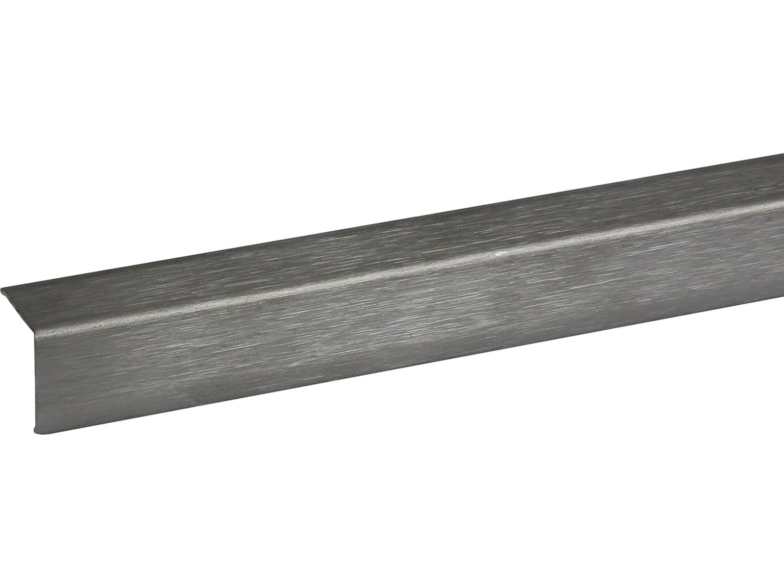 Pisla 20x20 mm ruostumaton teräs kulmalista
