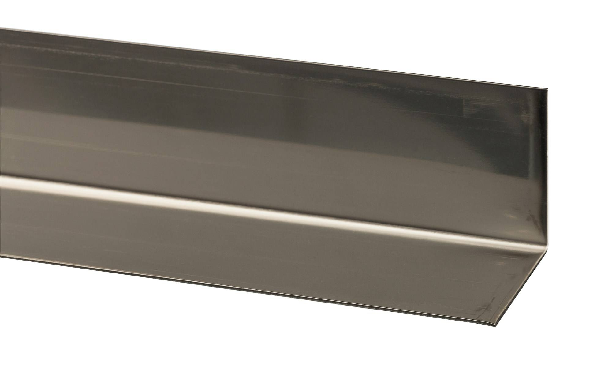 Alfer 40/40 - 0,8mm ruostumaton teräs  2,5m kulmalista