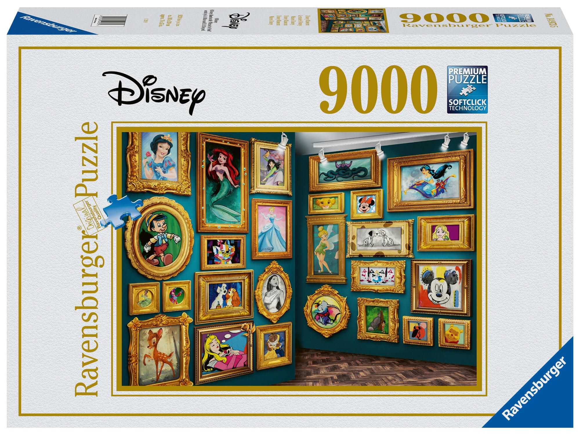 Ravensburger Disney Multiproperty 9000p palapeli