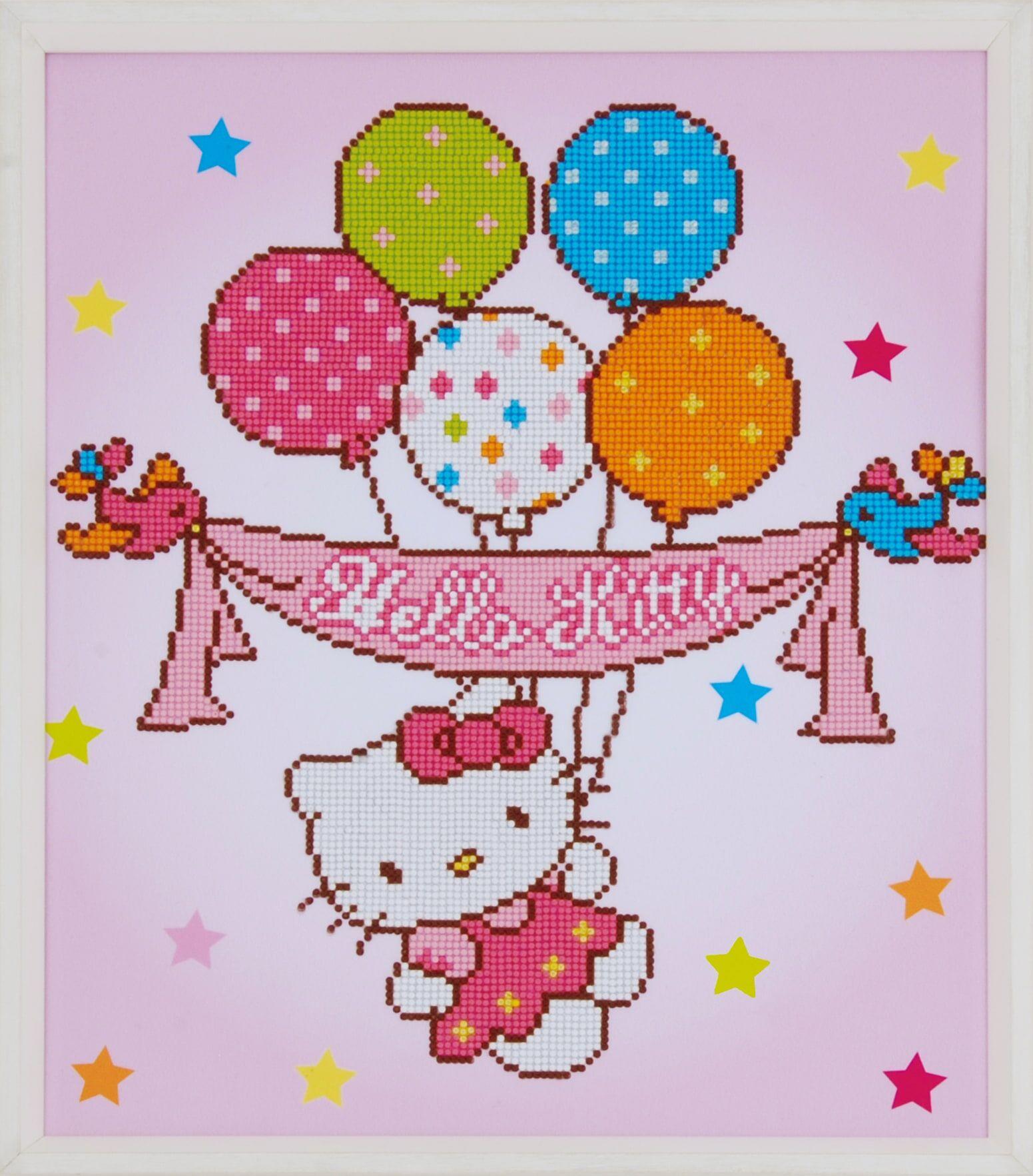 Hello Kitty Vervaco Hello Kitty timanttiaskartelutyö
