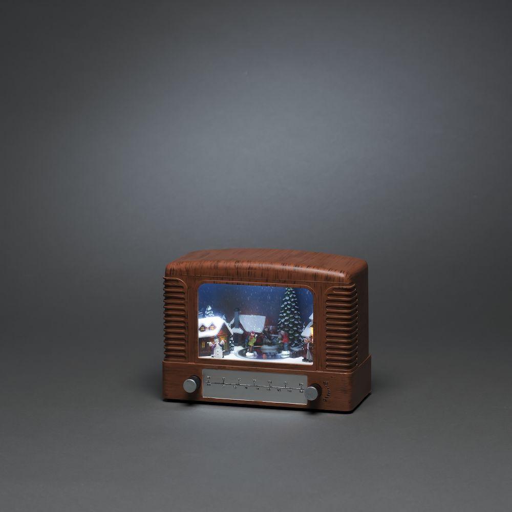 Konstsmide 4207-600 soiva radio pöytäkoriste