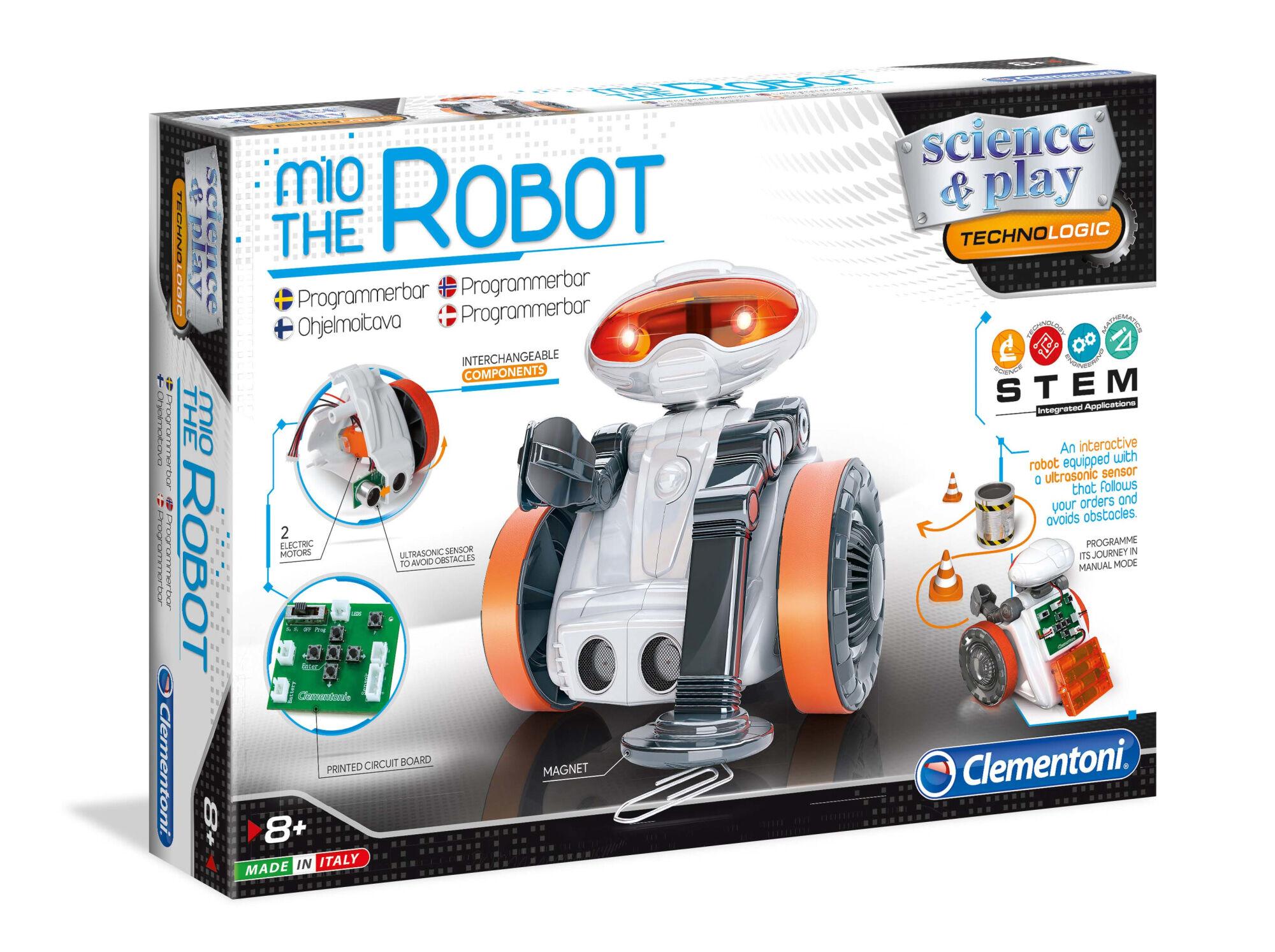 Clementoni Science & Play Mio the Robot 2.0 ohjelmoitava robotti