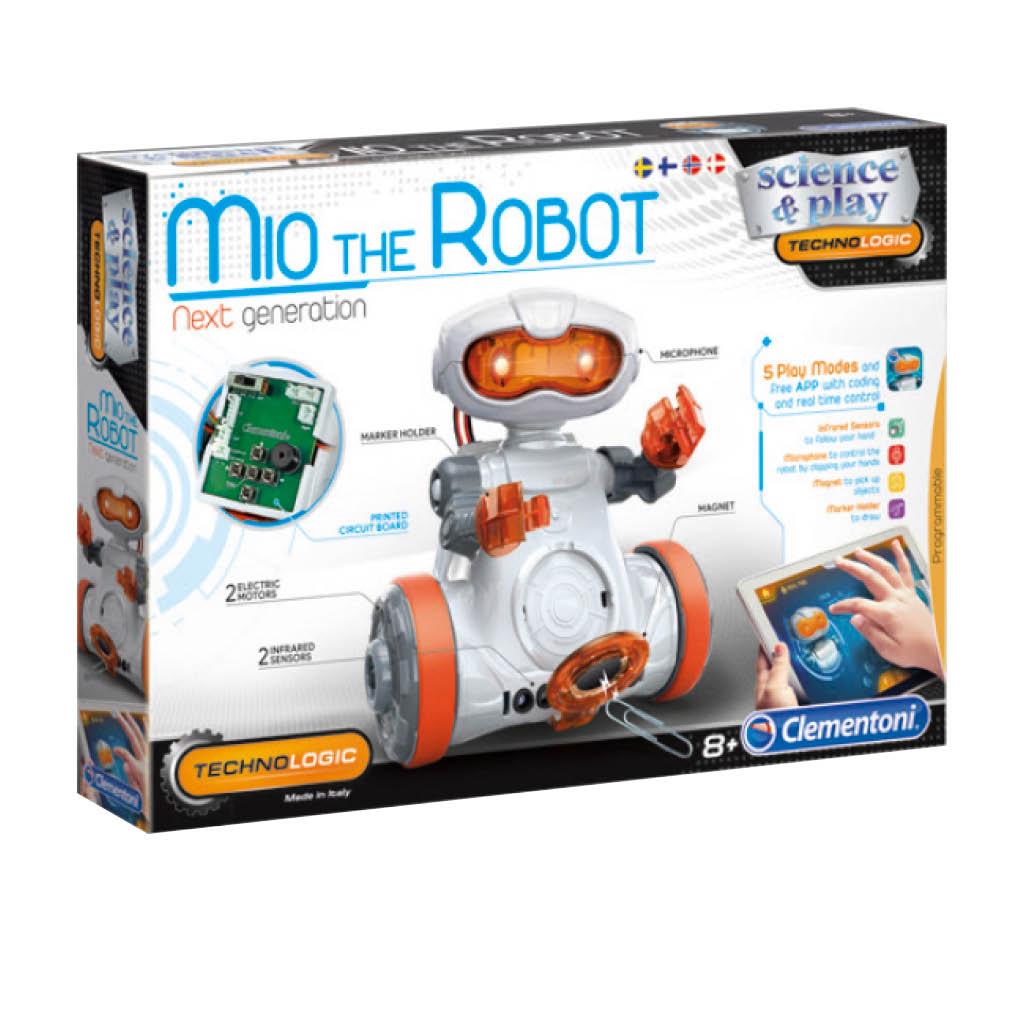 Clementoni Mio the Robot ohjelmoitava robotti