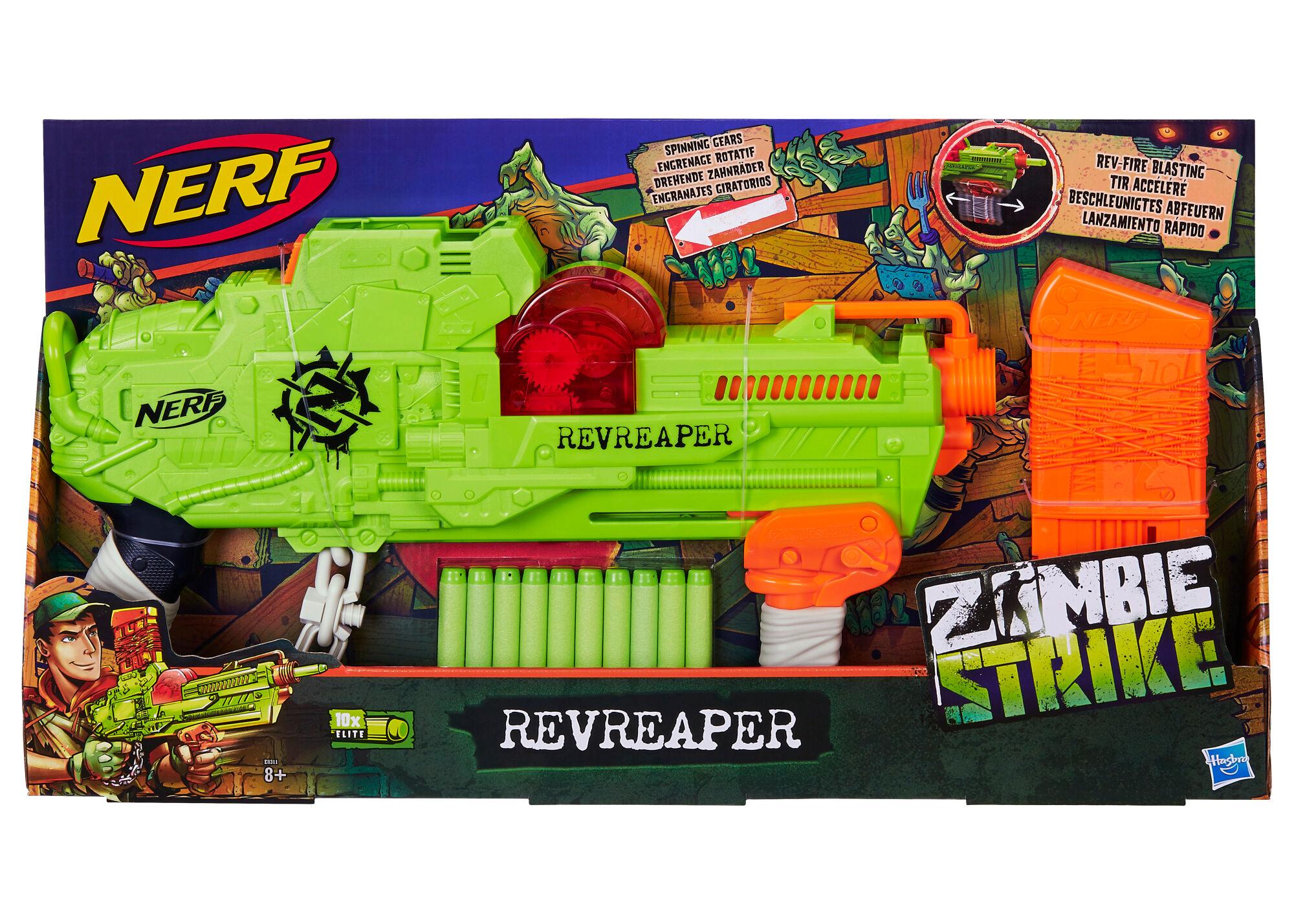 Nerf Zombie Strike Revreaper nuolipyssy