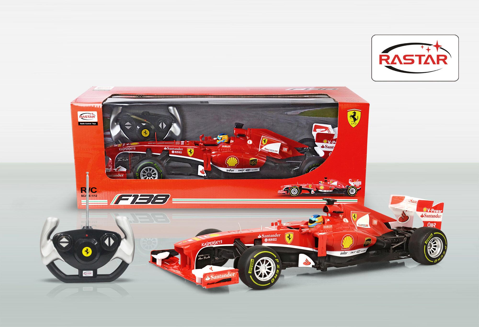 Rastar R/C 1:12 Ferrari F1 radio-ohjattava auto