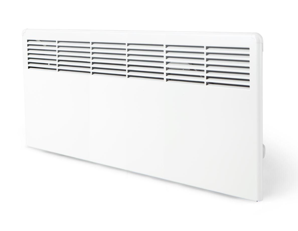 Ensto Beta10-BT-EB 1000W lämmitin kytkentärasialla, seinäasennus