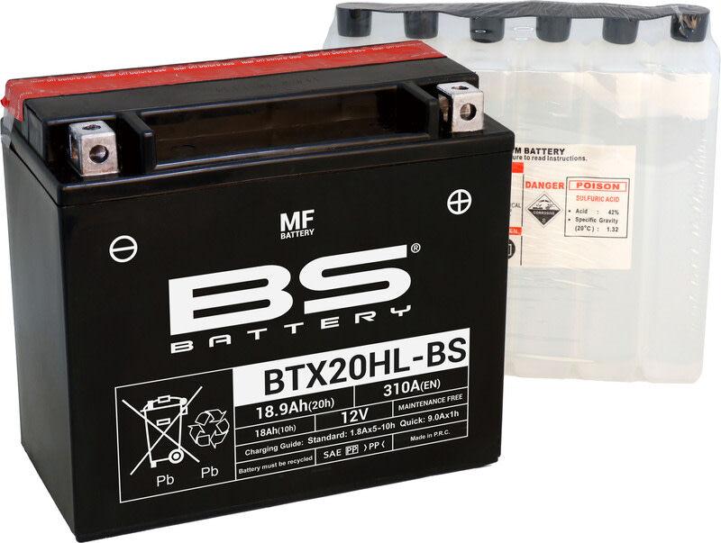 BS Battery BTX20HL-BS MF (cp) 12V 18Ah akku