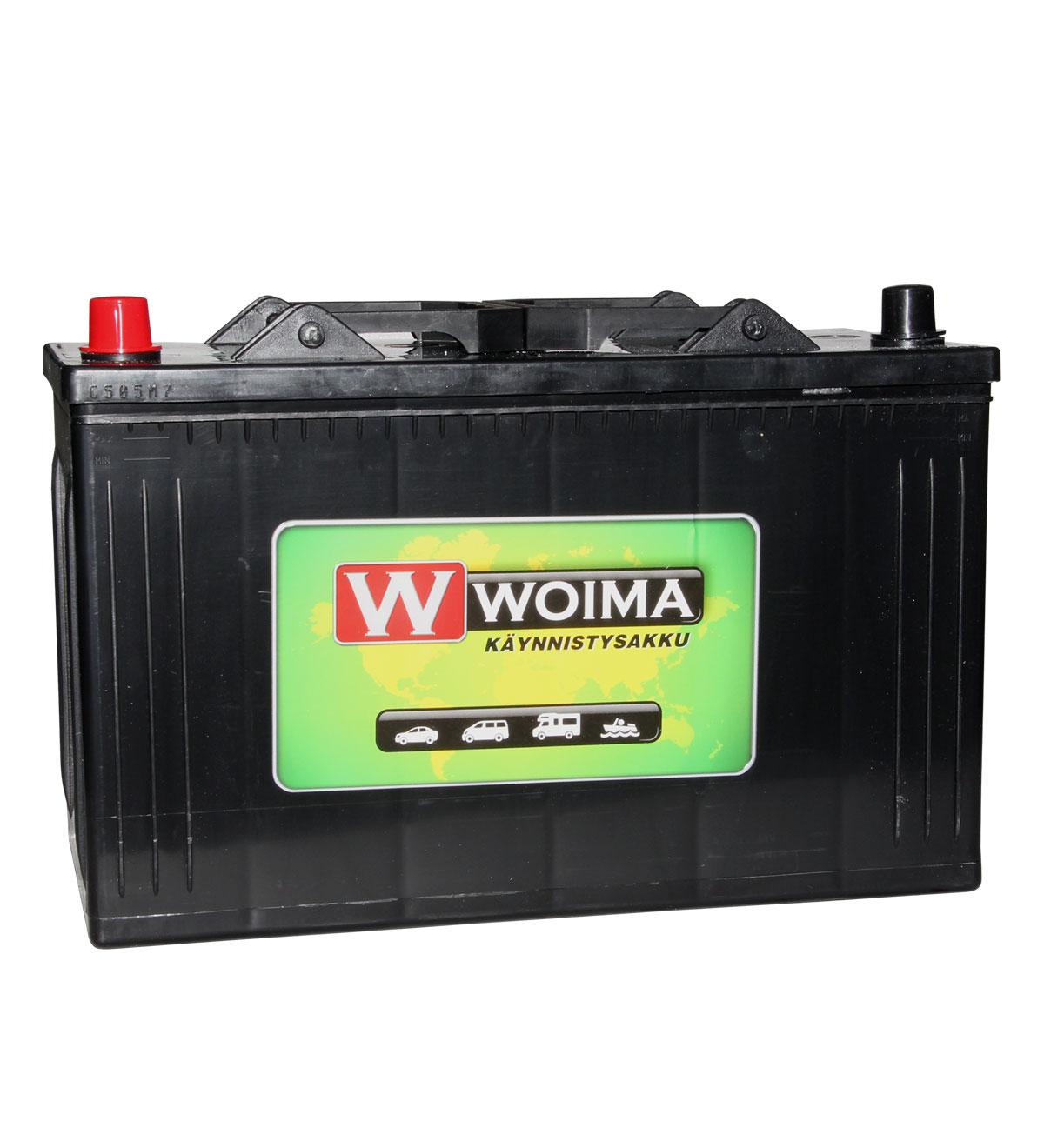 Woima HD 105Ah 720A 345x175x233 +/- käynnistysakku