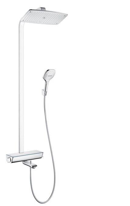 Hansgrohe Raindance Select E 360 Showerpipe suihkusetti juoksuputkella