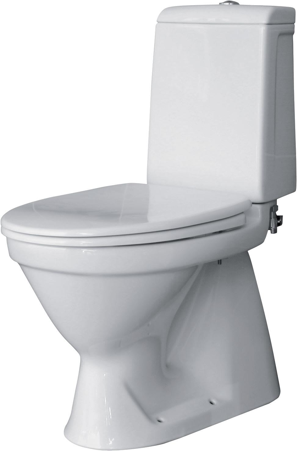 Cersanit Skand wc-istuin S-lukolla, ilman istuinkantta
