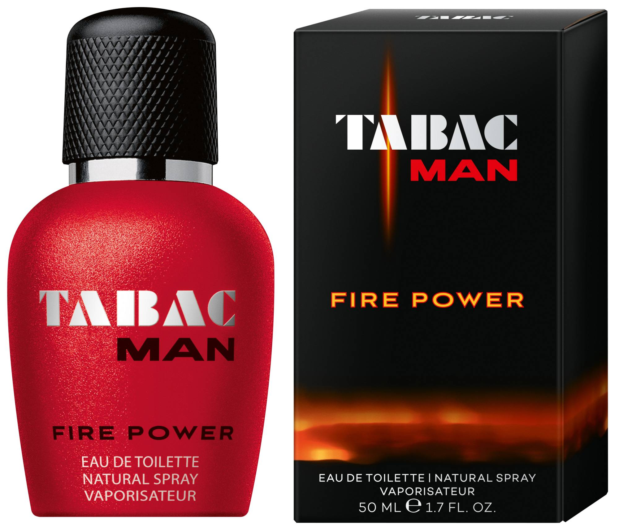Tabac Man Fire Power EdT 50 ml miesten deodoranttispray