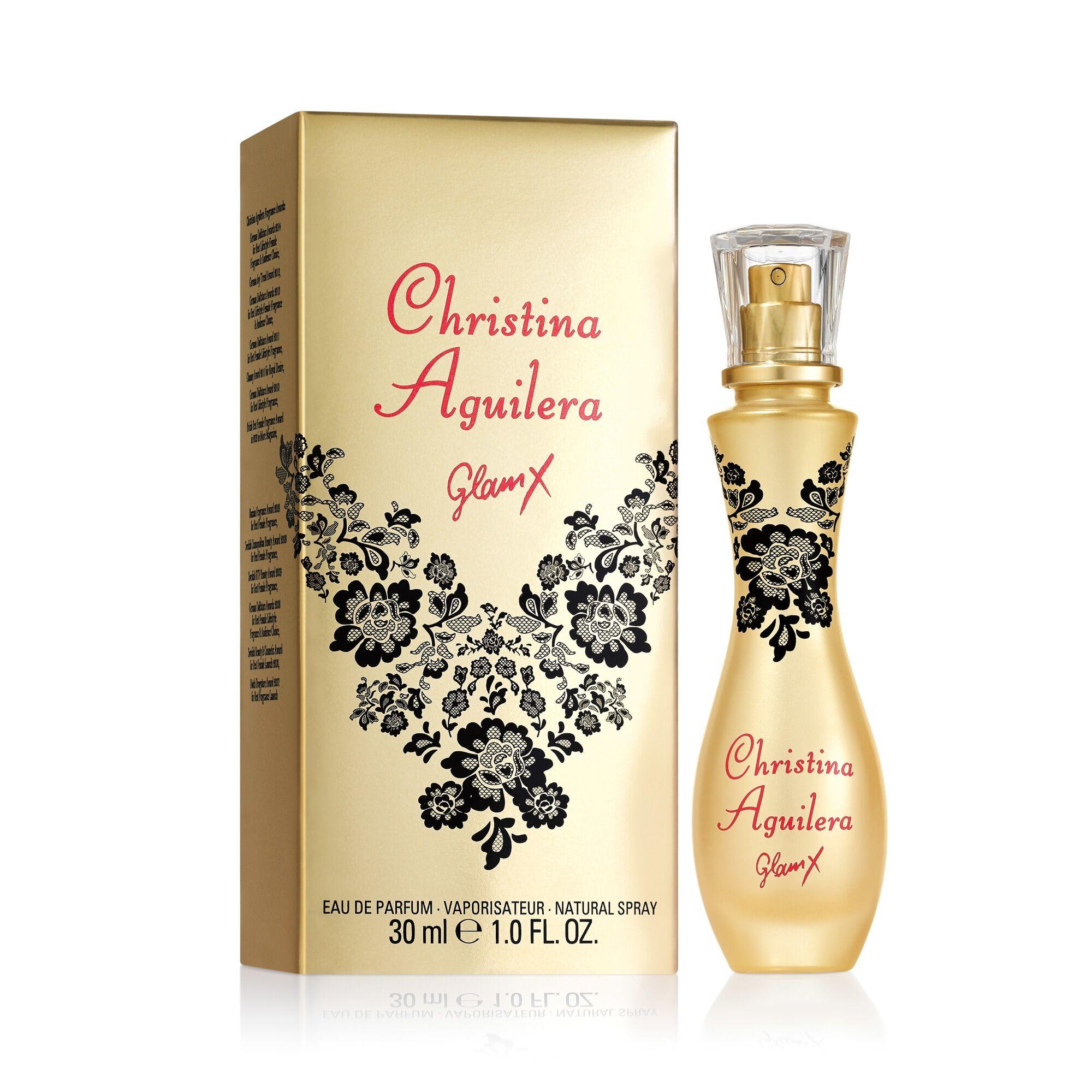 Christina Aguilera Glam X 30 ml Edp naisten parfyymi