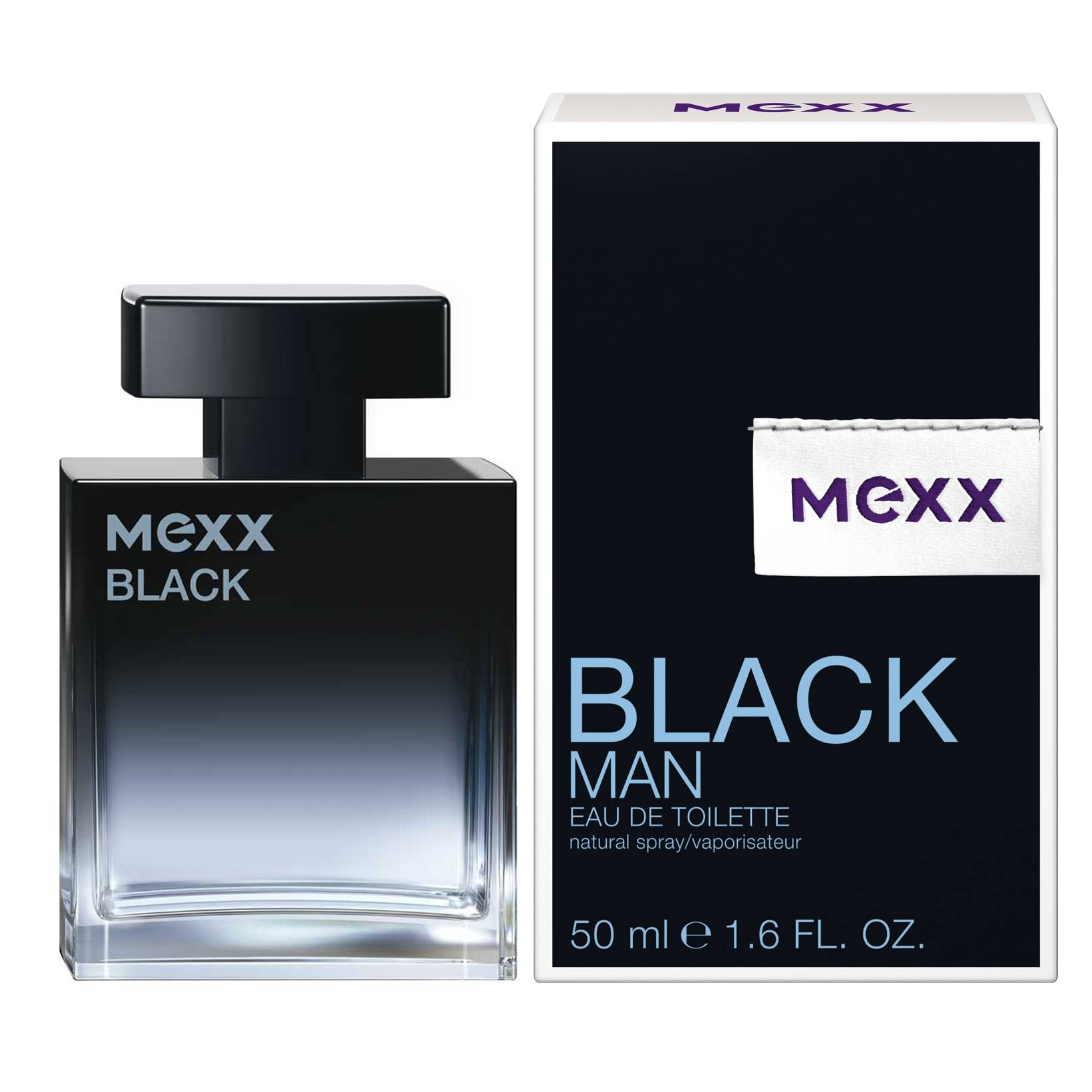 Mexx Black Man EdT 50 ml parfyymi