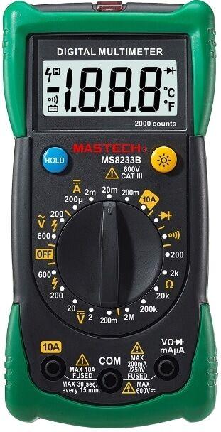 Mastech MS8233B digitaali yleismittari
