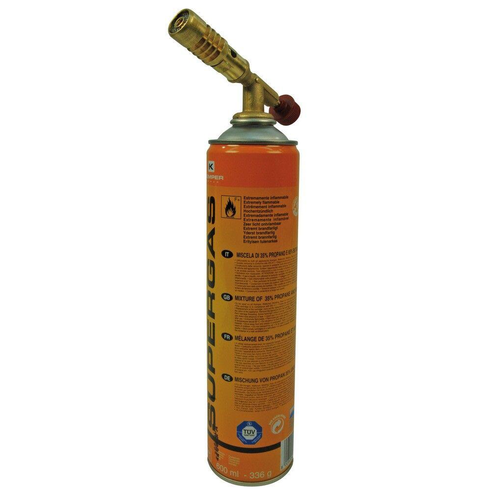 IKH Kemper mini kaasupoltin & 660 ml säiliö