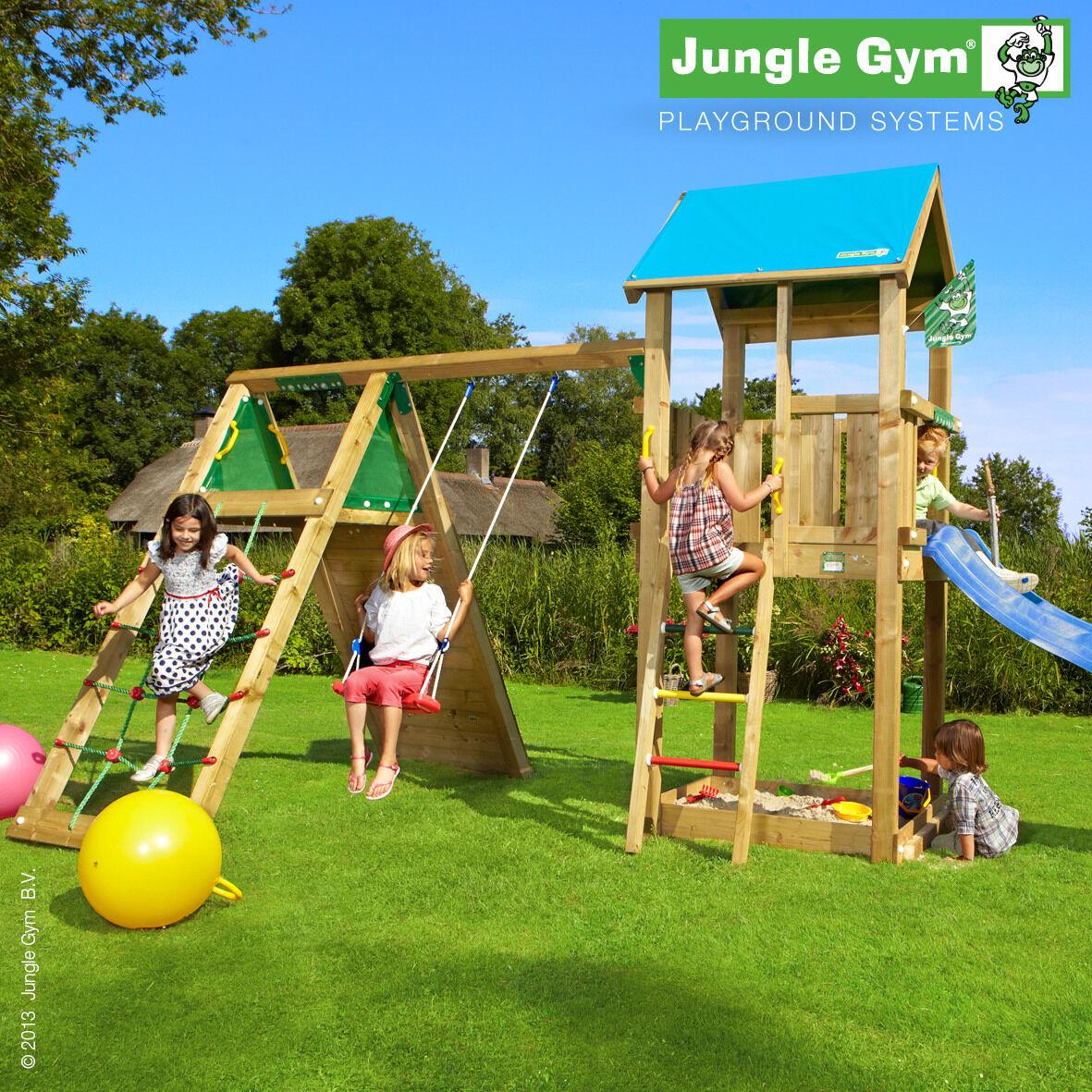 Jungle Gym Castle+Climb leikkikeskus