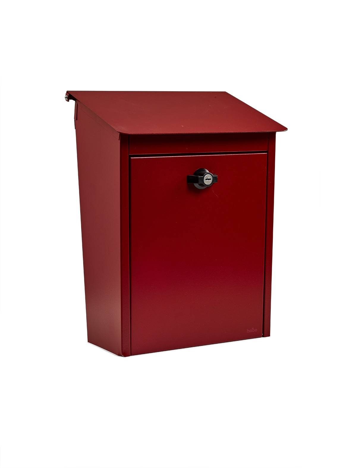 Habo 9441b punainen lukollinen postilaatikko