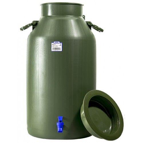 Plastex 30 l vihreä hanallinen vesiastia