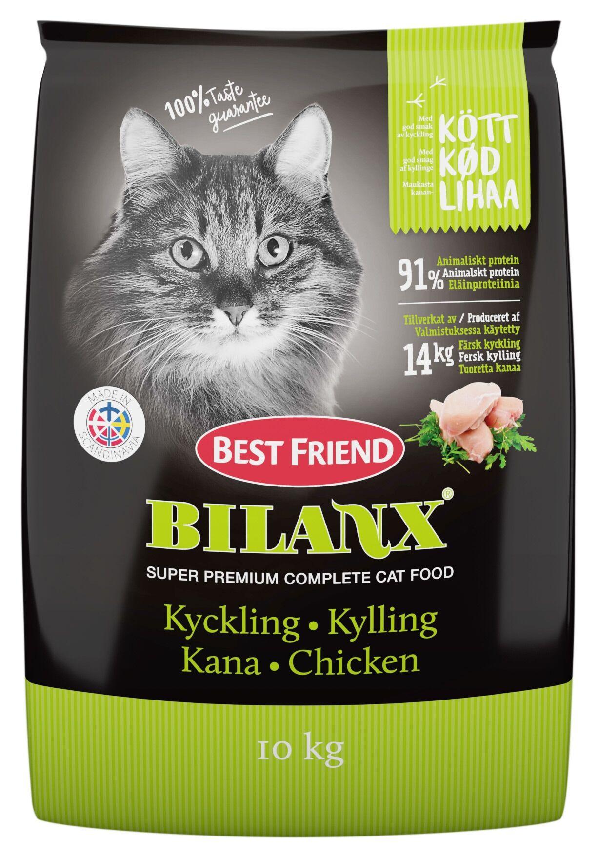 Best Friend Bilanx Complete Chicken 10 kg kissan kuiva täysravinto