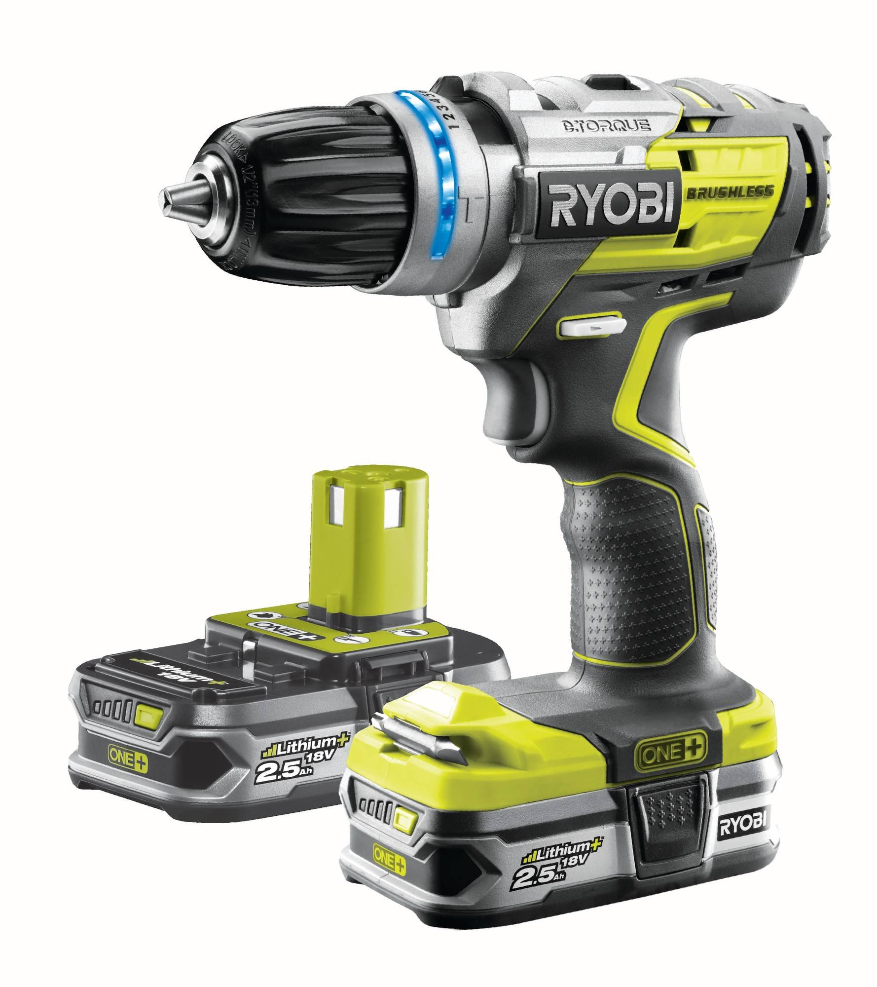 Ryobi One+ R18PDBL-225S 18V 2,5Ah iskevä akkuporakone